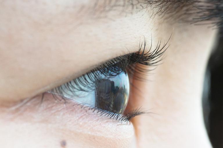 otwarte oko